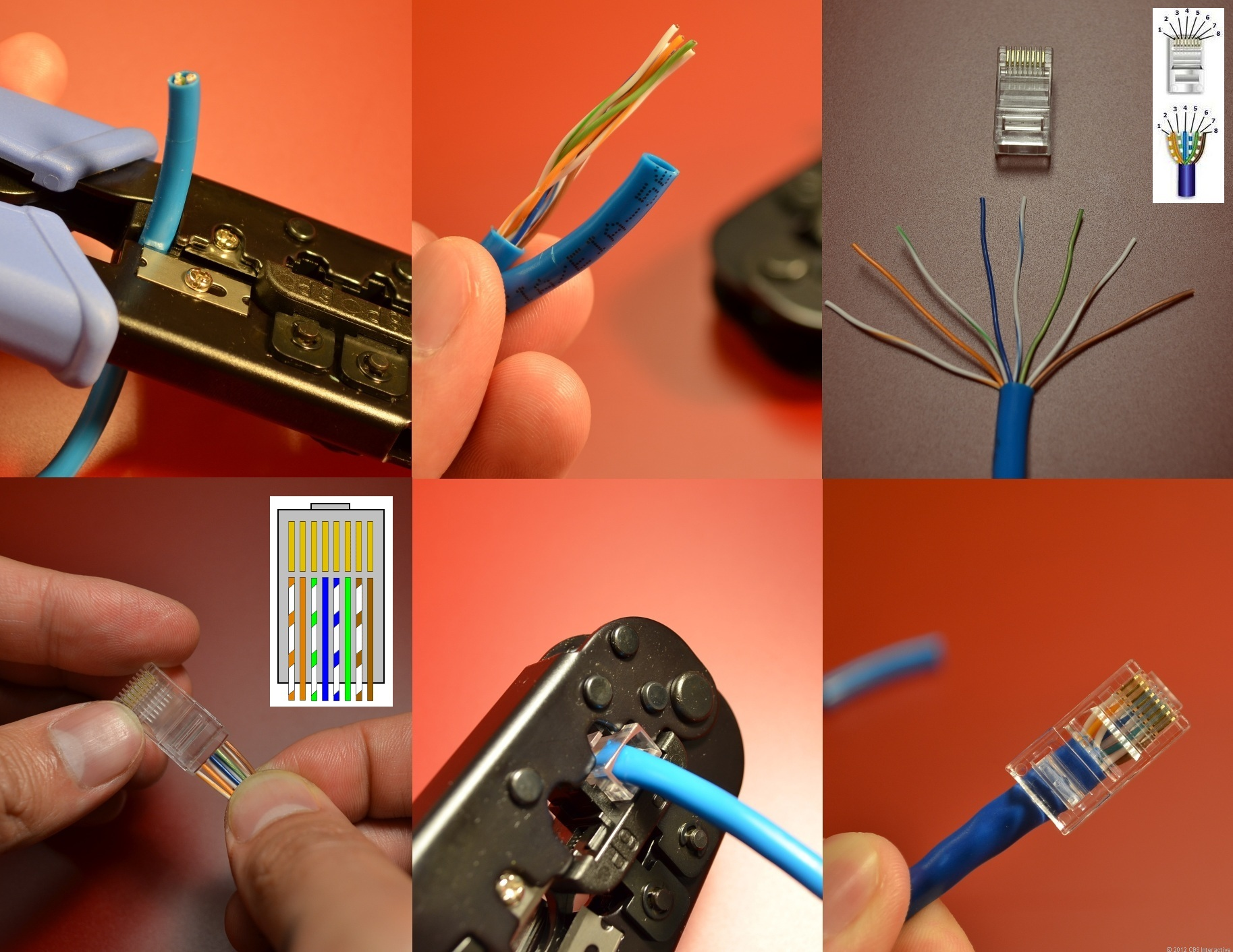 Making network cable