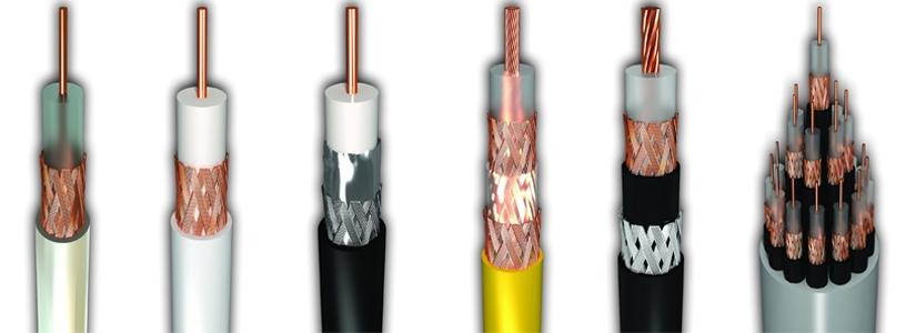 انواع کابل Coaxial