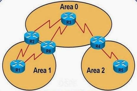 ساختار OSPF