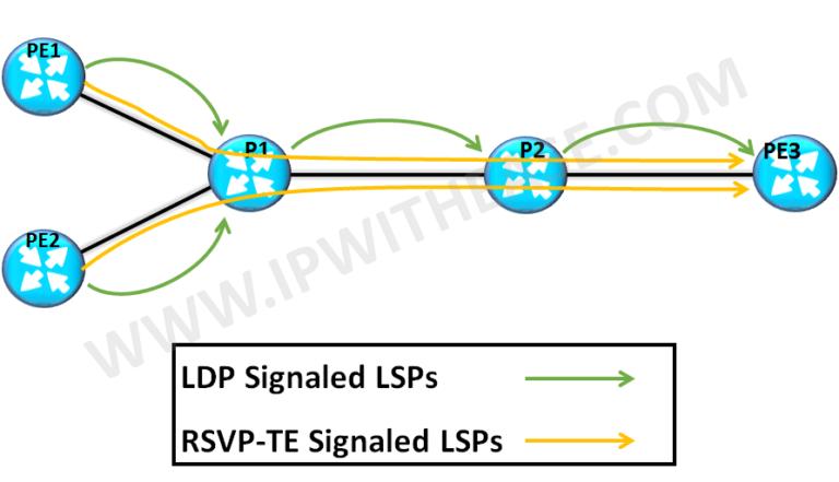 MPLS LDP vs RSVP