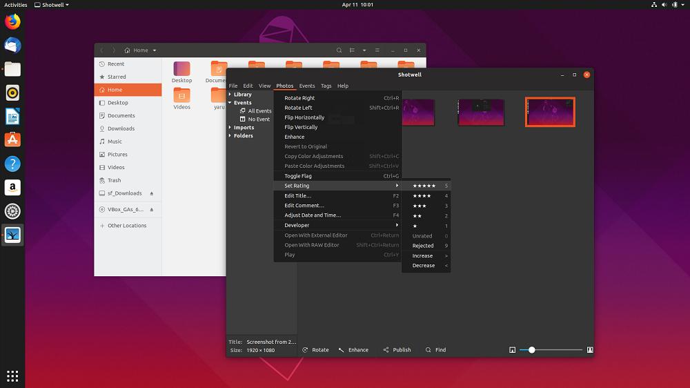 Ubuntu Yaru 03 - دانلود Ubuntu 19.04 یک اتفاق خوب با قابلیت ها و تغییرات جدید