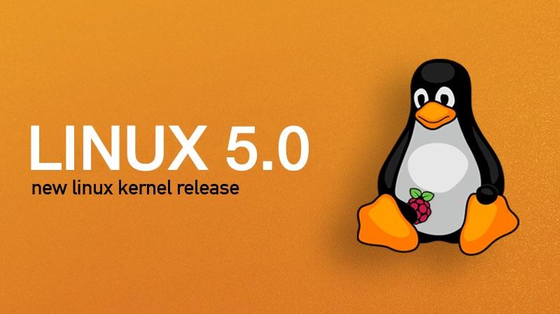 Linux kernel 5.0