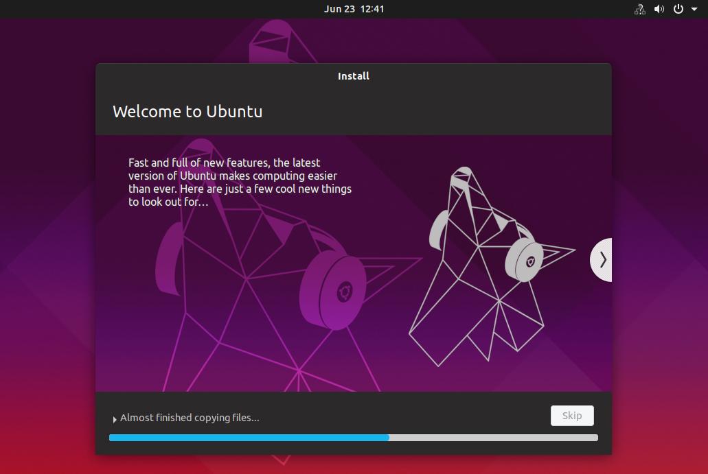 آموزش نصب لینوکس اوبونتو