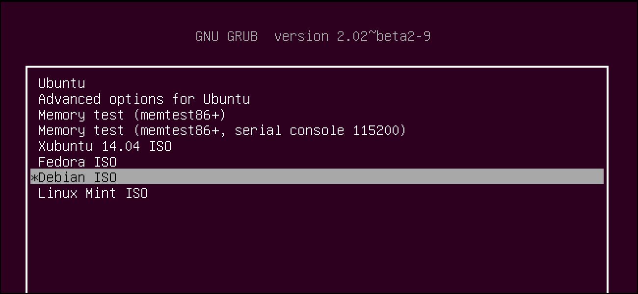Grub v2 - نصب مدیر بوت در لینوکس