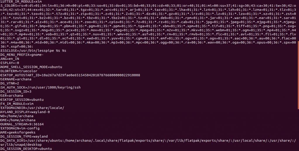 تمام متغیر محیطی (Environment variable) لینوکس - مدیریت کتابخانههای اشتراکی