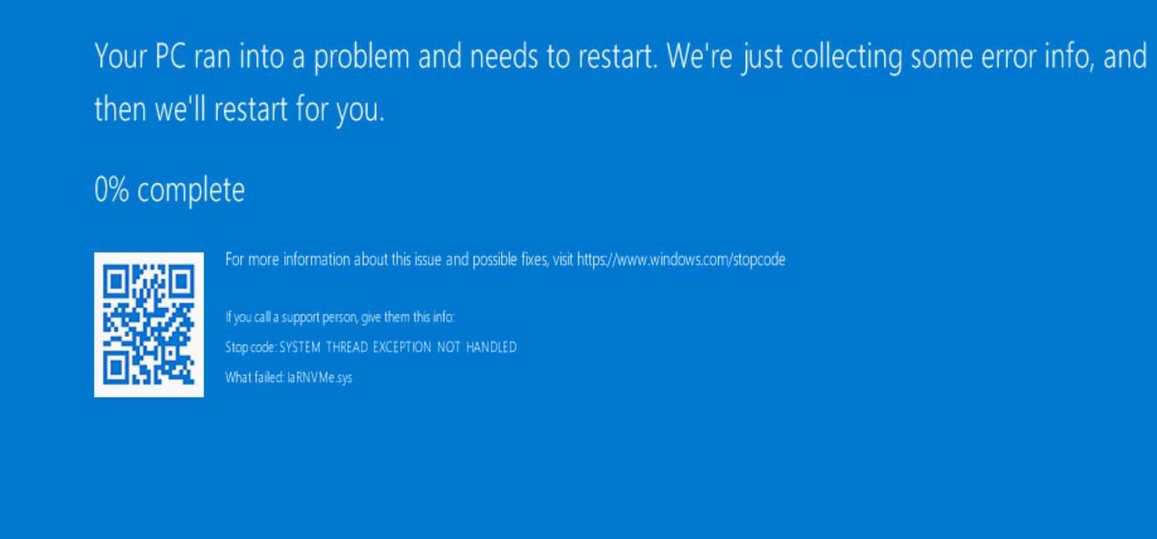 BSOD | Stack Overflow