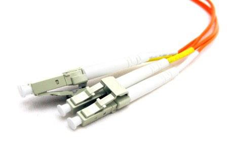 پچ کوردهای فیبر نوری با انواع مختلف کانکتورها