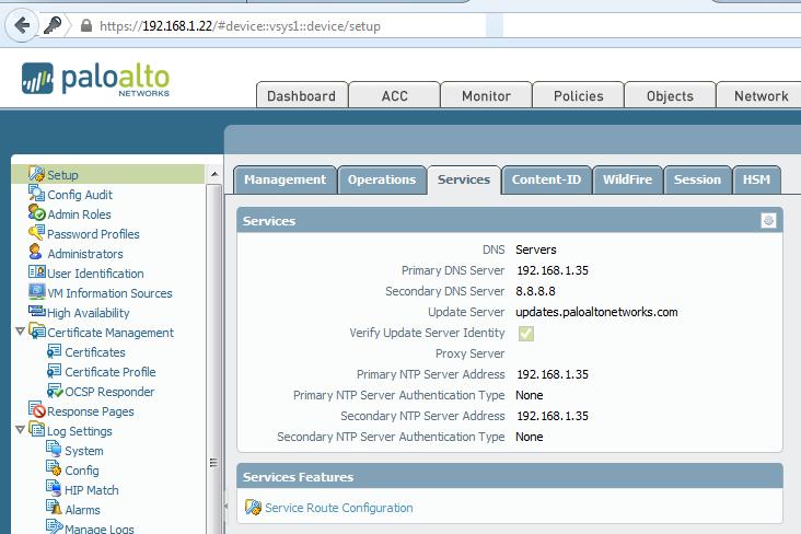 Palo Alto Networks NG Firewall
