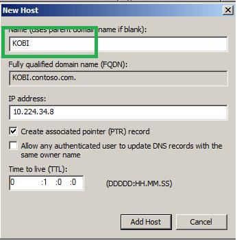 آموزش تبدیل رکوردهای A موجود در DNS با حروف کوچک به حروف بزرگ