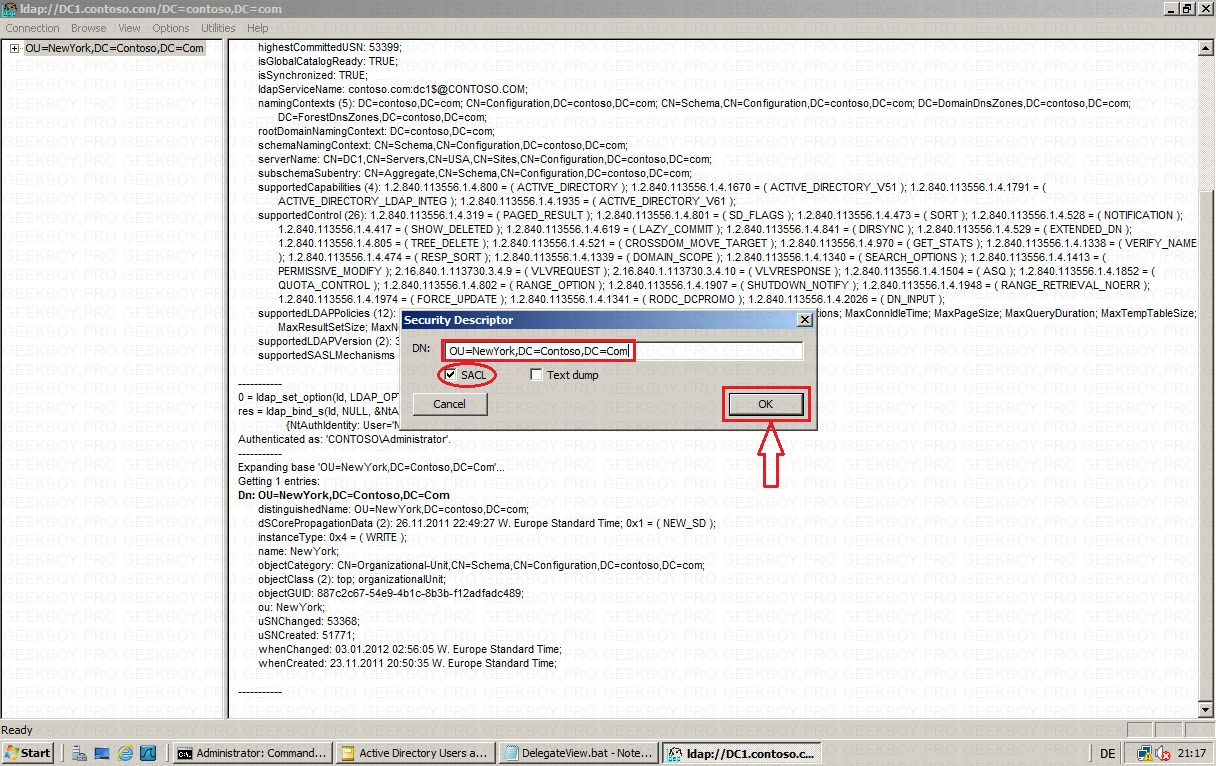 Security Descriptor