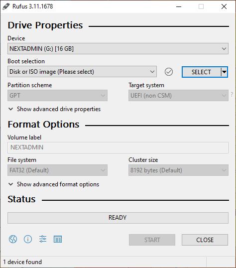 آموزش تصویری نصب ویندوز و بوتیبل کردن فلش با استفاده از برنامه Rufus