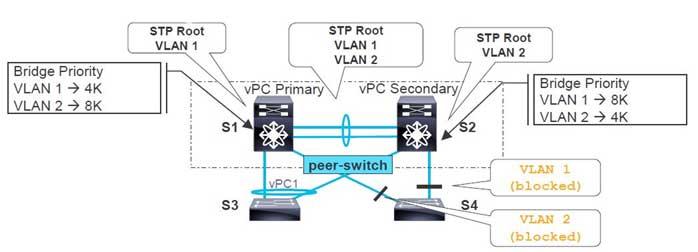Hybrid Topology (vPC and non-vPC)