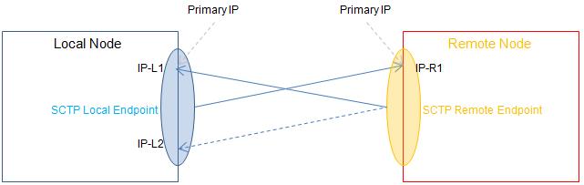 Asymmetric Multi homing: Local Multi homing - Remote Single homing