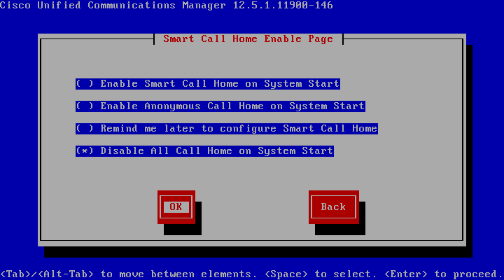 Install Cisco Unified Communications Manager