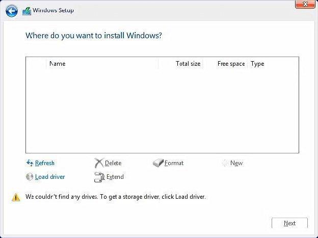 حل مشکل نصب ویندوز 10 روی پردازنده های جدید نسل 11